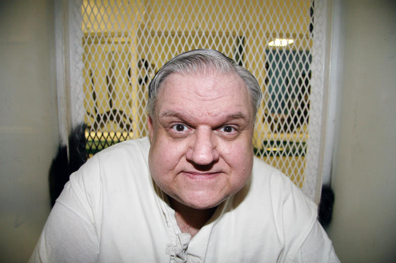 Death row prisoner Coy Wayne Wesbrook, photographed in February 2016 at the Texas Department of Criminal Justice Polunsky Unit.