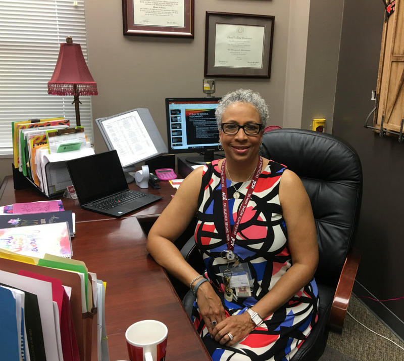 Veteran 18-year Garland principal Cheryl Alexander was chosen to launch the district's first ACE elementary campus.