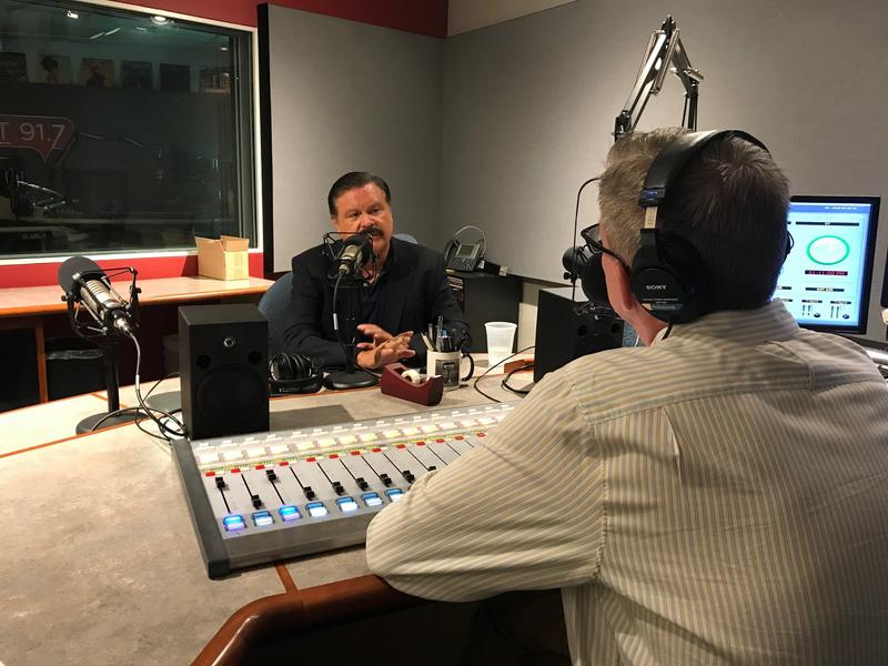Domingo Garcia speaks with KERA's Rick Holter in studio.