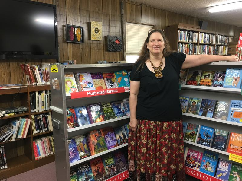 Tina Hager is director of the Ponder Public Library. A new partnership between Texas Woman's University and the Texas Library Association aims to help rural libraries in serving the needs of their community.