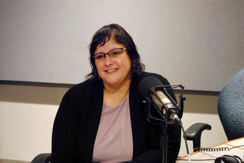 Anel Mercado, the new executive director of Read Fort Worth, speaks to KERA's Rick Holter in studio.