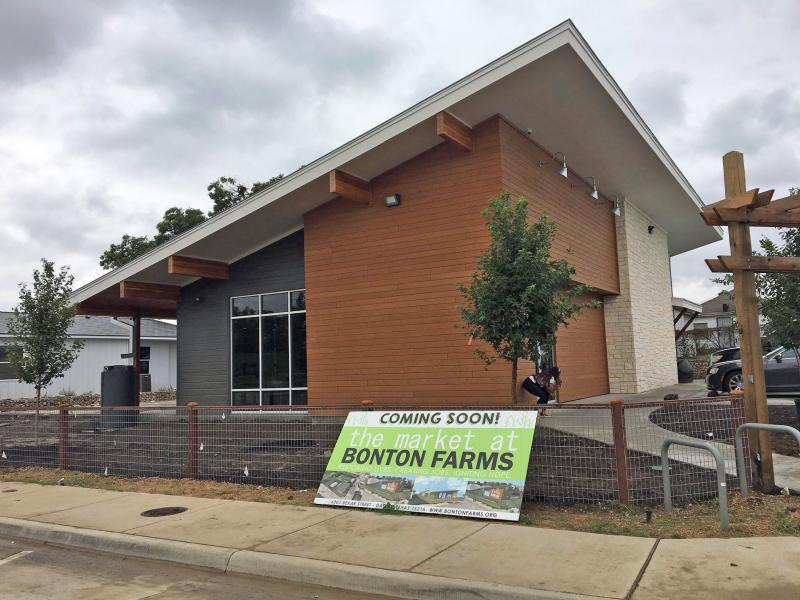 The Market at Bonton Farms is set to open November 19.
