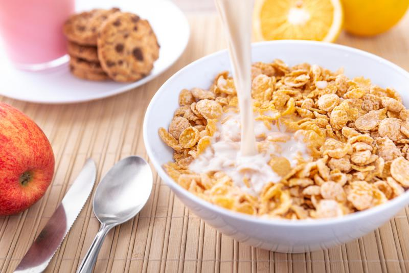 A new study says milk and cereal in the morning can help avoid overeating the rest of the day.