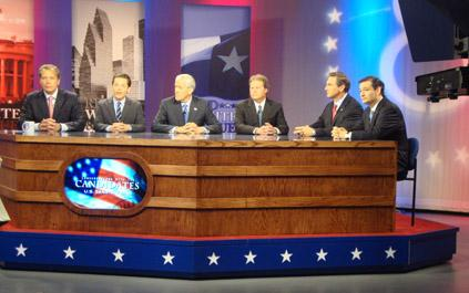All six candidates for US Senate debated in Houston Thursday.