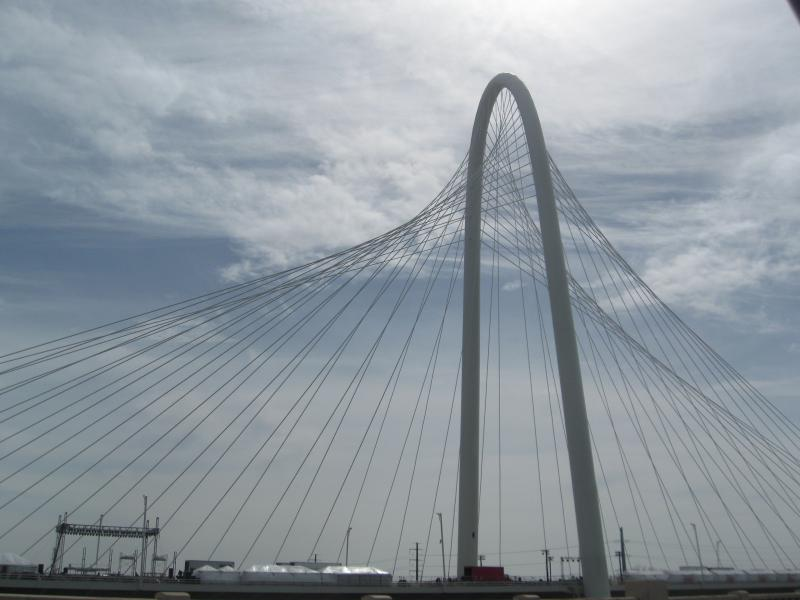 The new Margaret Hunt Hill bridge is expected to revitalize West Dallas.