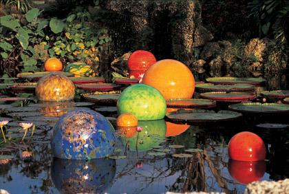 Work by glass blower Dale Chihuly will be on display at the Dallas Arboretum starting Saturday.