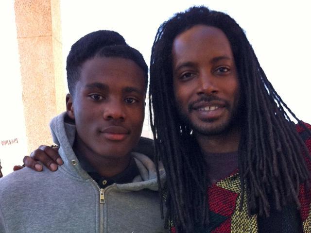 Alcedric Todd and his son, Sean