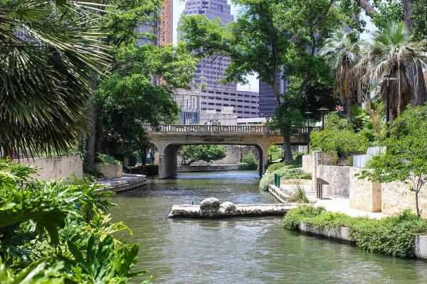 Take a stroll along the San Antonio Riverwalk. And venture around the city to see historic homes and missions.