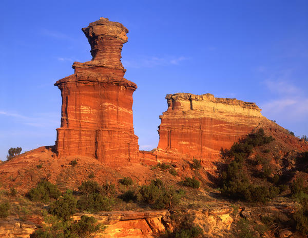 Who needs the Grand Canyon when you have Palo Duro? Admire the Lighthouse Formation in Palo Duro Canyon State Park.