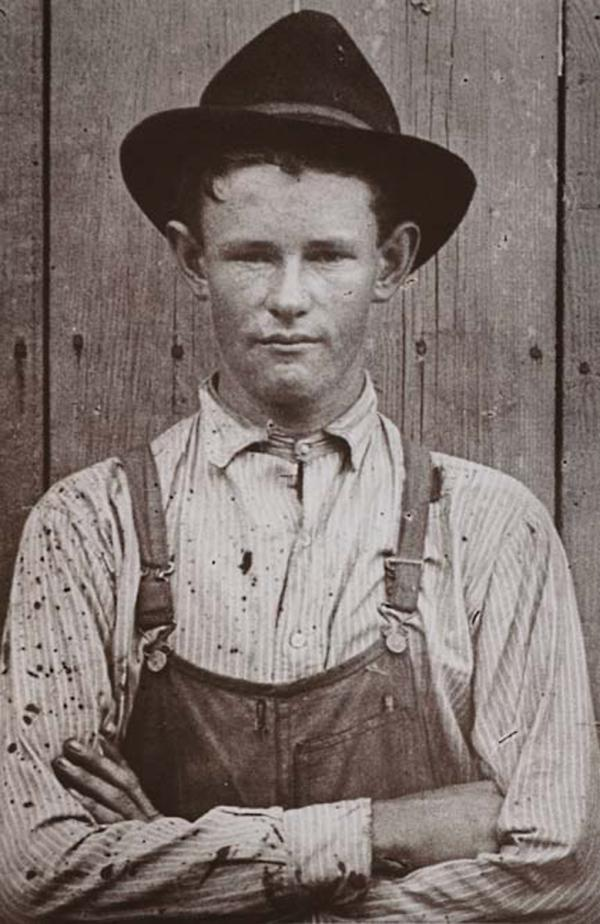 A Fort Worth city worker, 1920s.