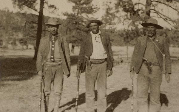 Pancho Villa's soldiers, 1915.