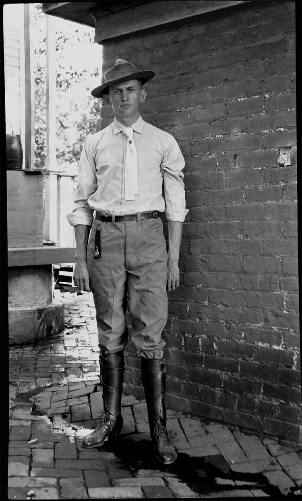 An engineer in Gainesville, 1906.
