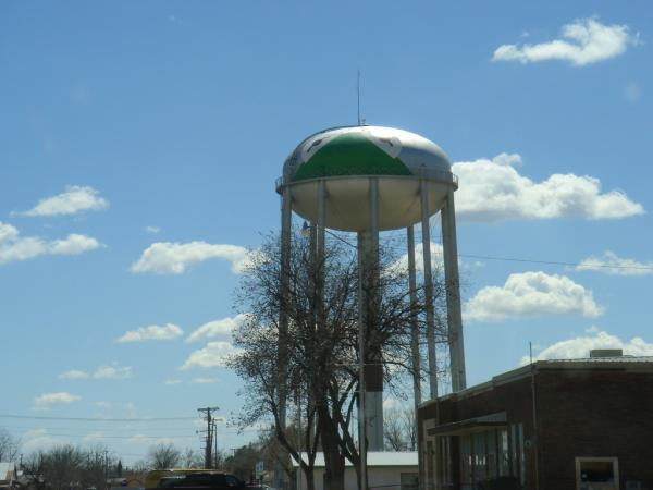 Kermit, Texas, is home to a water tower covered with a green frog. Also, there's Kermit the Frog Boulevard.