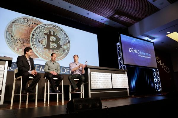 Khosla Ventures Partner Keith Rabois, founder & CEO of SecondMarket/Bitcoin Investment Trust Barry Silbert and DEMO executive producer Eric Schonfeld discussed 'How Does Bitcoin Become Real Money?' during DEMO Enterprise in April at the Mission Bay Conference Center in San Francisco.