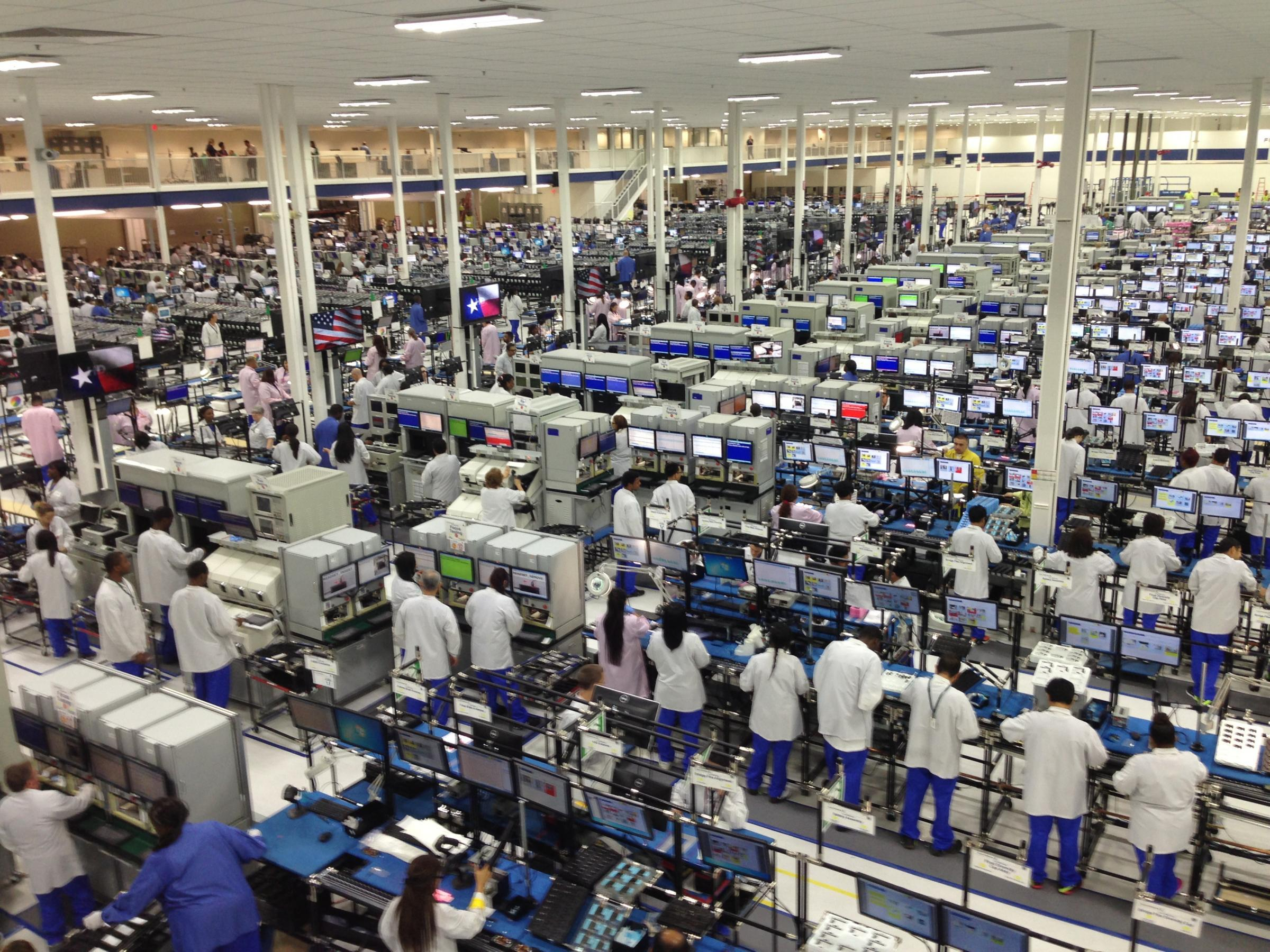 Motorola's US-based assembly facility