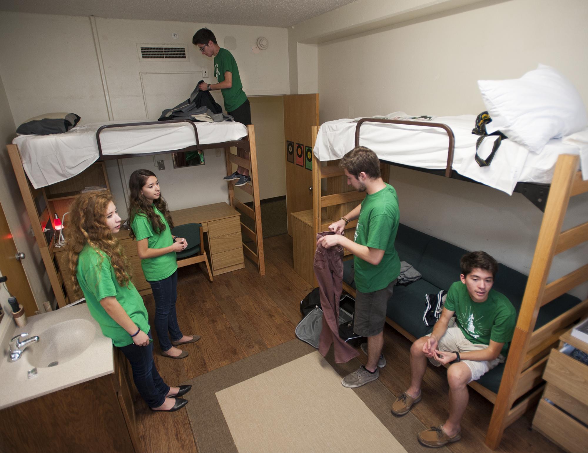College Dorm News Diaz Quints
