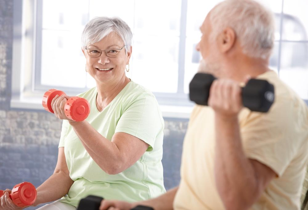For a strong heart in old age the amount you exercise