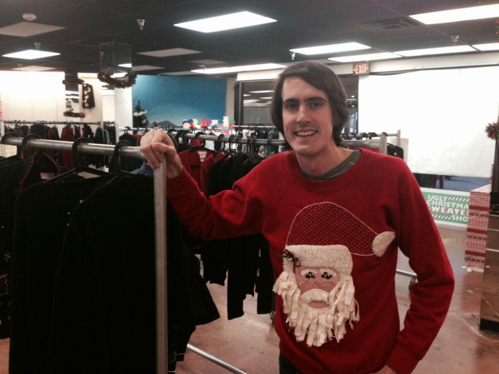 This Dallas Man Is Obsessed About Ugly Christmas Sweaters | KERA News