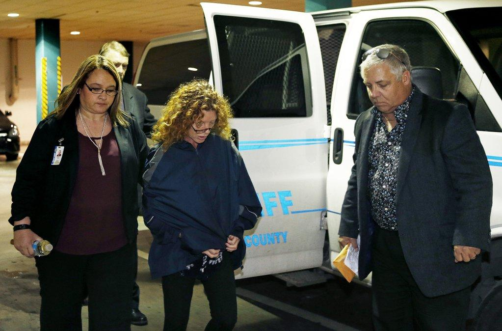Tonya Couch Mother Of Texas Affluenza Teen Arrives At