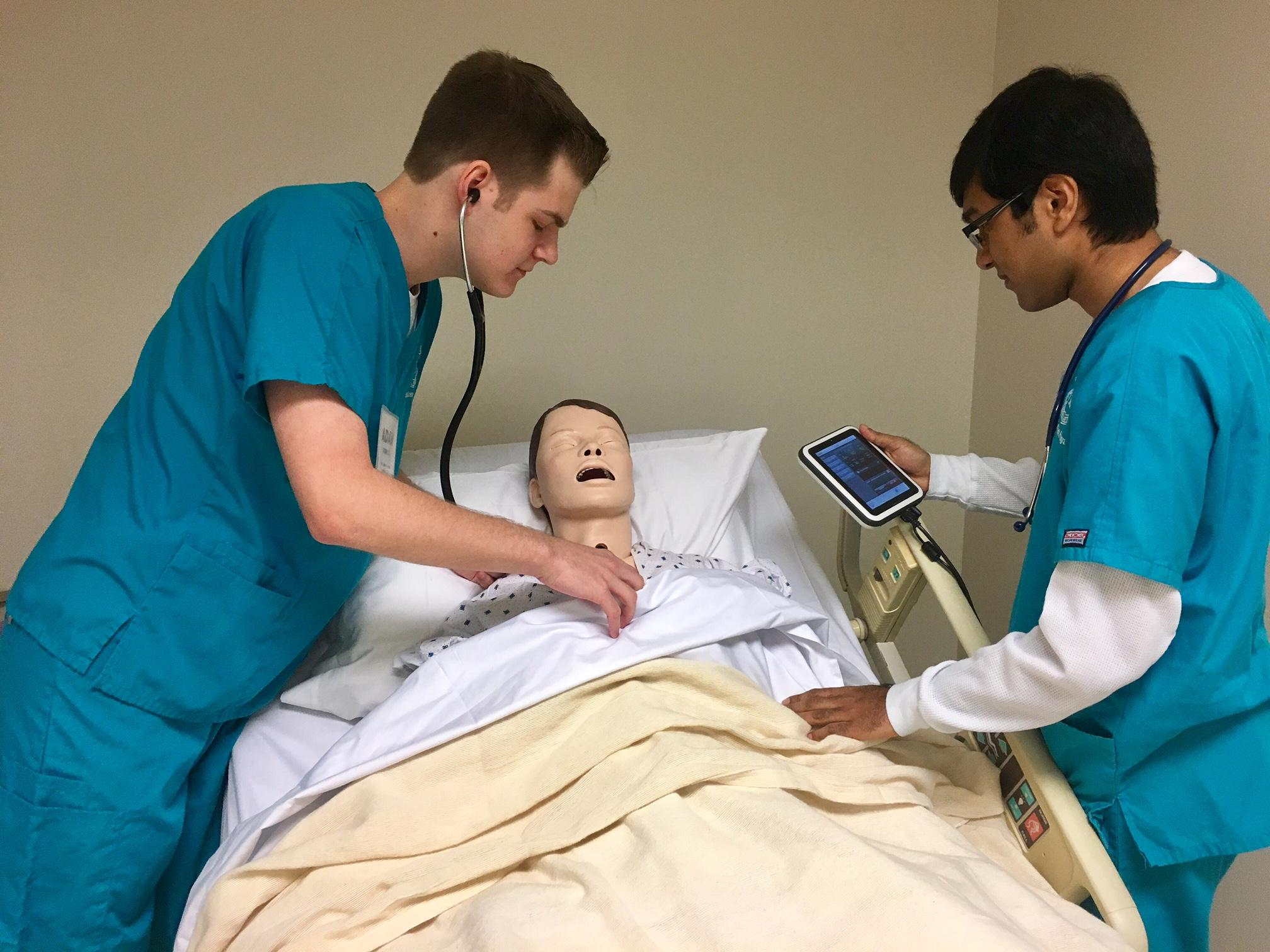 in richardson high school students get hands on medical training