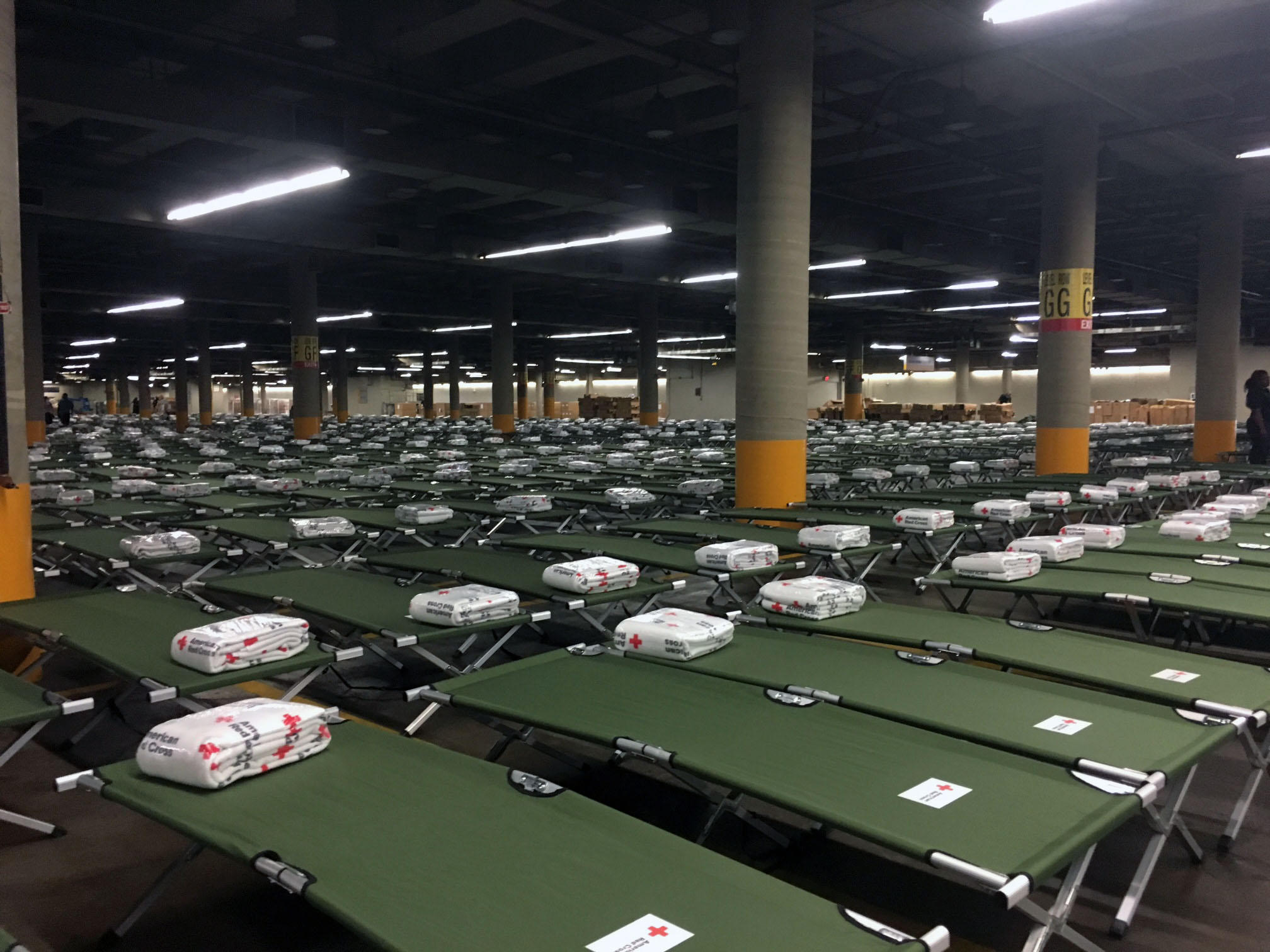 Shelter at GRB over capacity with 7000 evacuees
