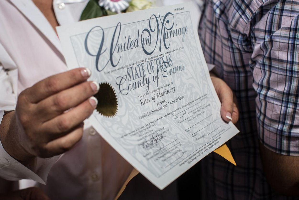 Supreme Court rejects Texas case on gay-marriage benefits