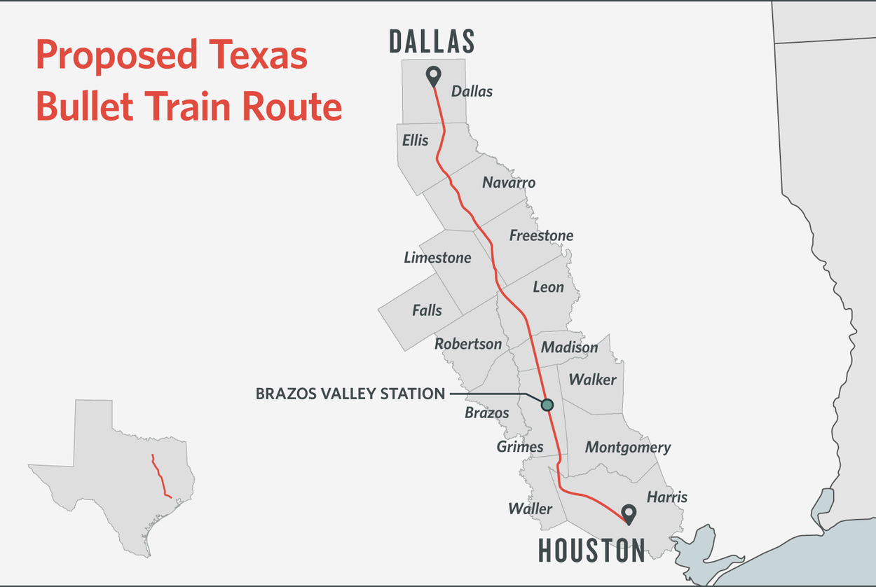 Dallas kera news some texans dodge bullet train others are square in its path aiddatafo Choice Image