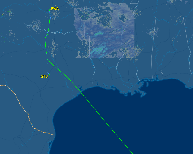 Plane disappears after taking off from Oklahoma City