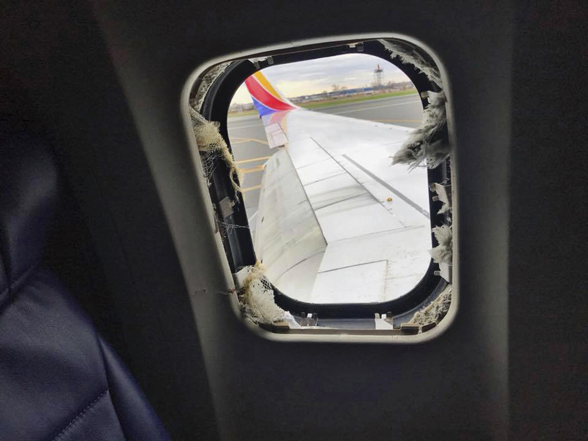 PHILADELPHIA --As those aboard a Southwest Airlines jet frantically started putting oxygen masks on and helping others with theirs after an engine blew Tuesday, hurling shrapnel at the aircraft Founded: Sep 18,