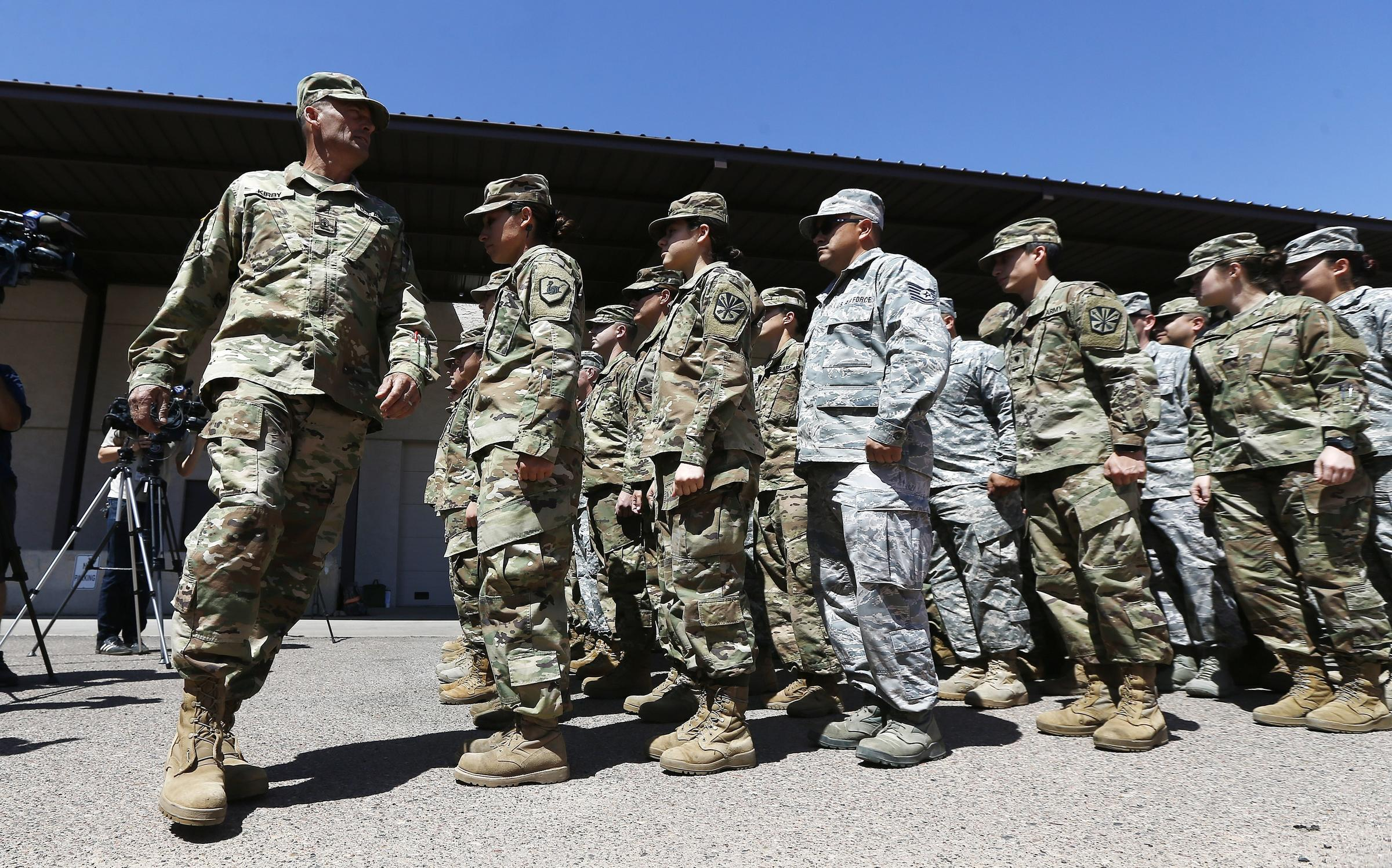 top stories border patrol officials claim national guard troops are