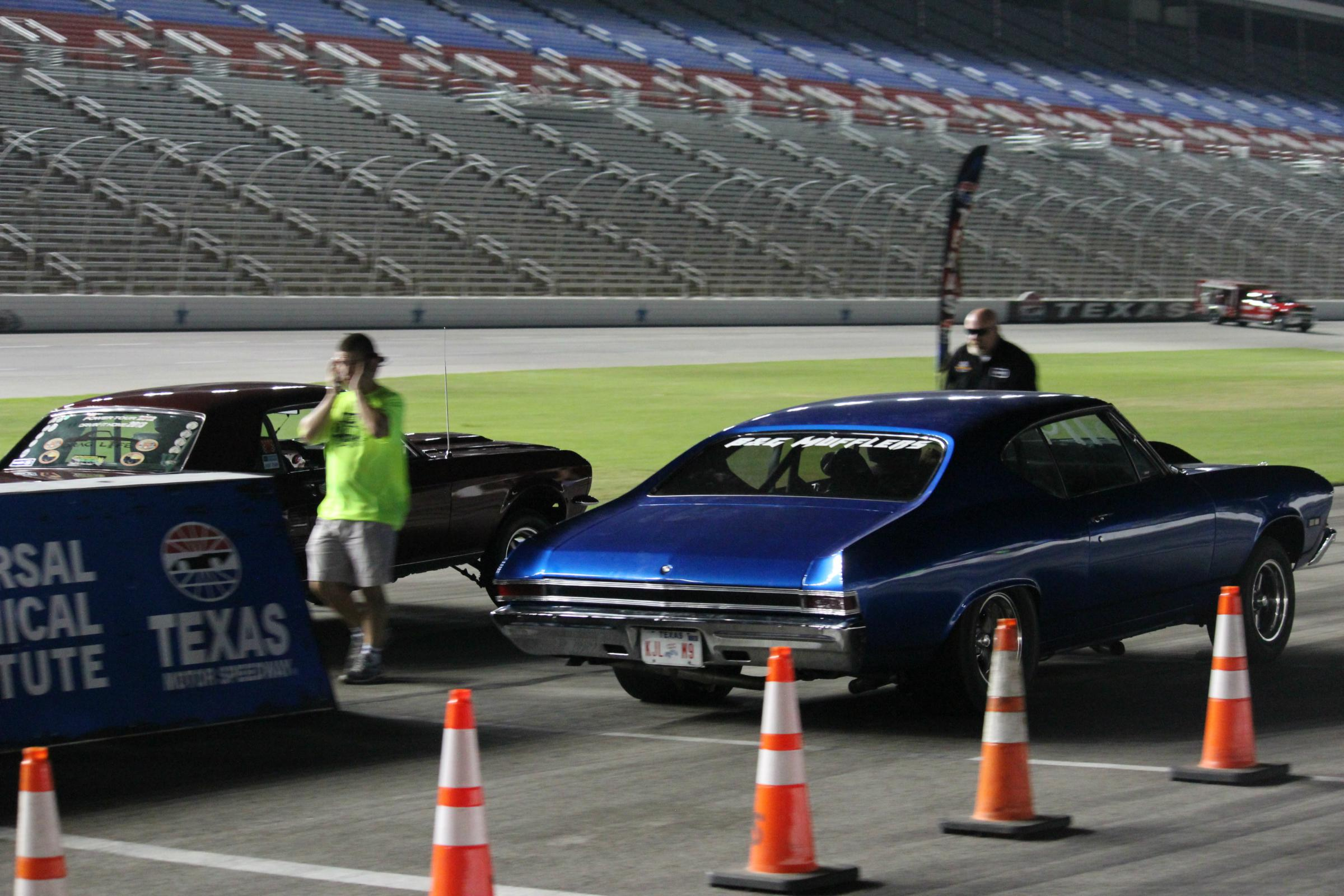 The Texas Motor Speedway started inviting amateur drivers in to race during the summers a decade ago. Part of the reason was to cut down on illegal street ...