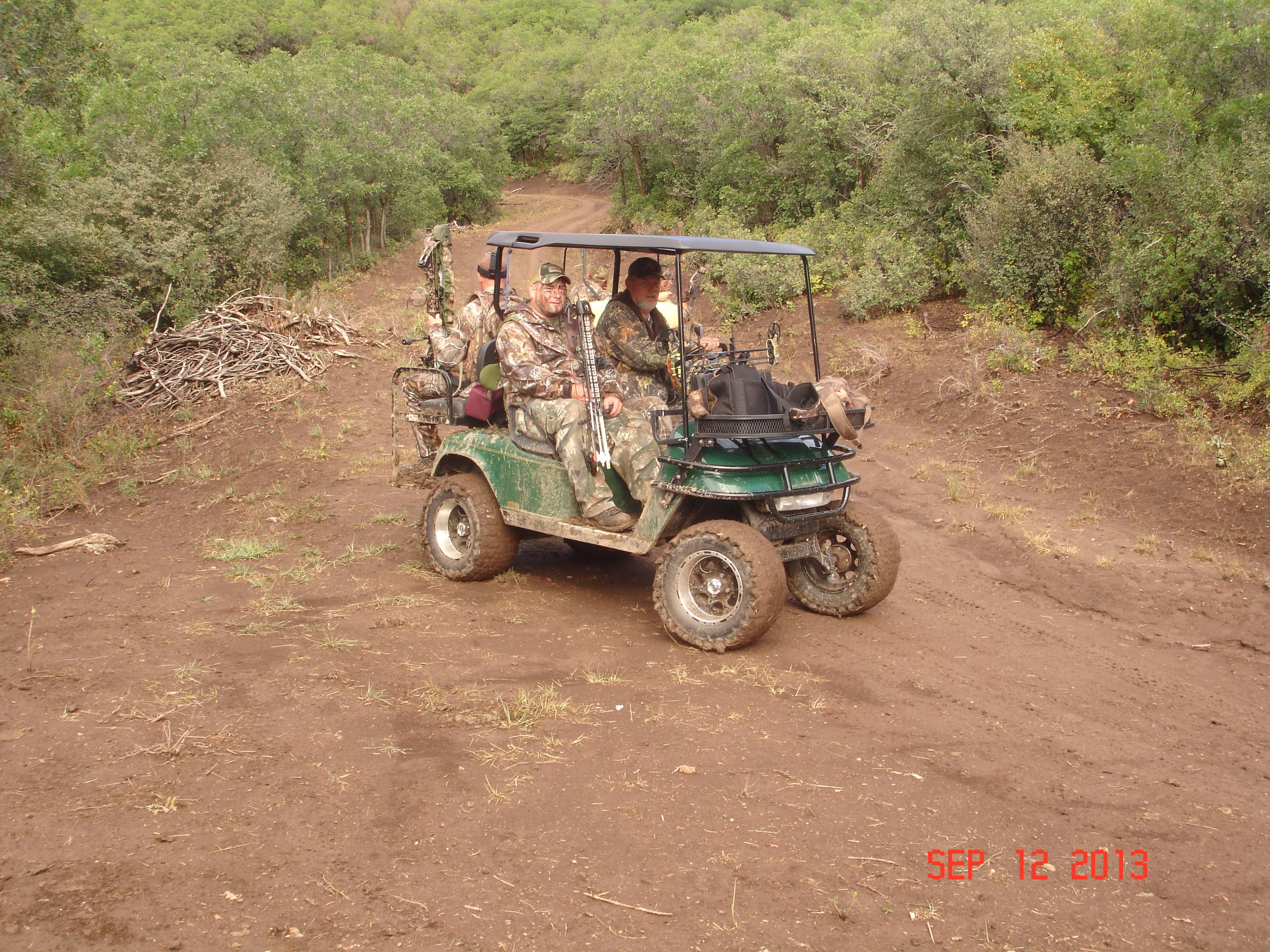 Ken Blackstock Golf Cart
