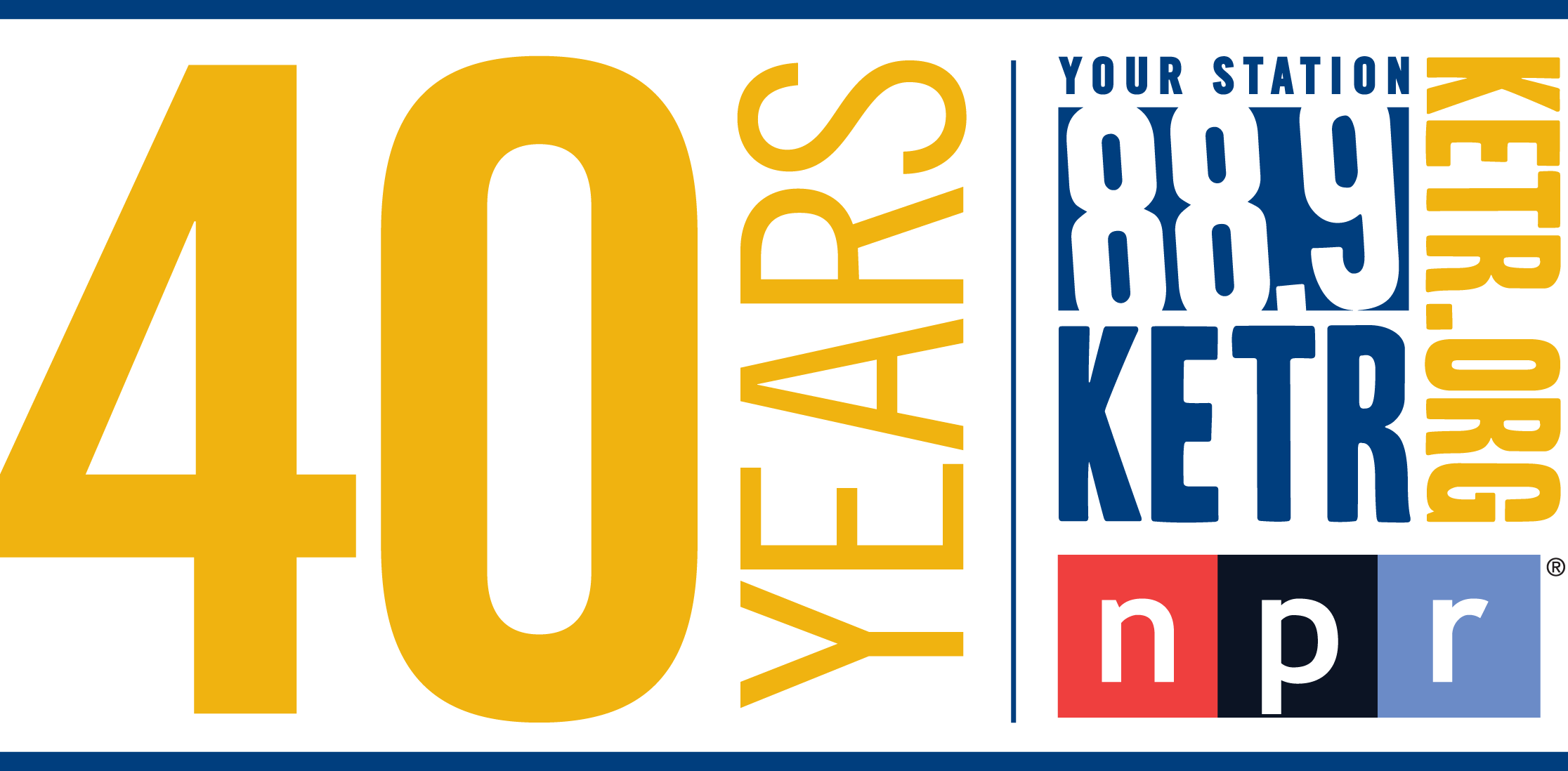 88.9 KETR logo