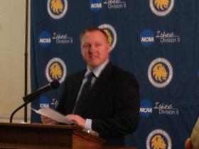 Ryan Ivey, Athletic Director for Texas A&M University-Commerce.