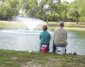 Fishing Friday brings out hundreds of anglers to Graham park in Greenville each year, including fathers and sons. The 18th Annual David Dickson Memorial Fishing Friday is scheduled this week.