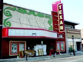 The historic Texan Theater.