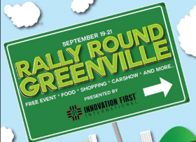 Rally Round Greenville is coming September 19-21