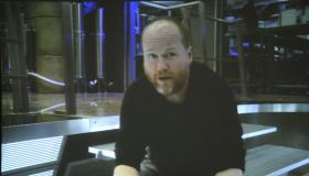 Joss Whedon (creator of Firefly and Avengers director) couldn't make the show, but sent a short, personal video for the fans.