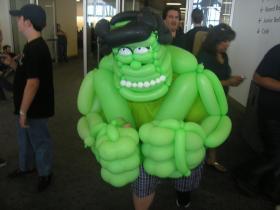 Hulk Smash puny crowds!