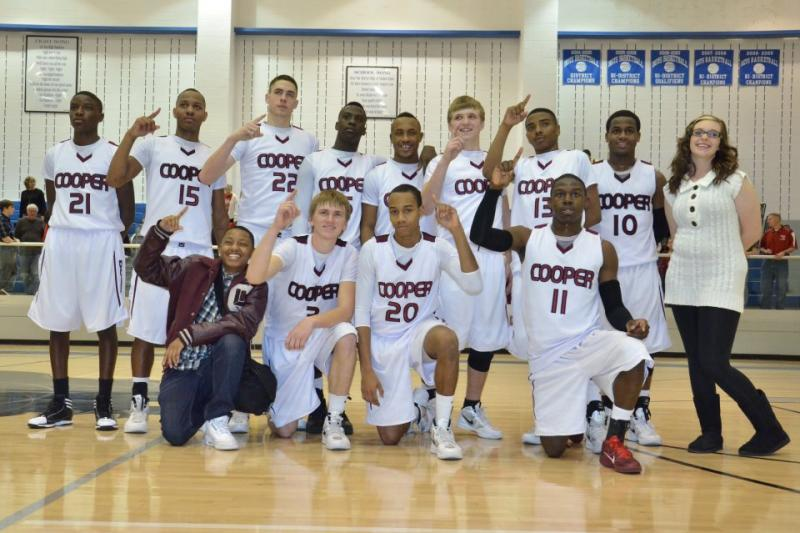 The Cooper Bulldogs took down Pottsboro Tuesday night 71-50 to advance to the Area Round where they'll play Krum.