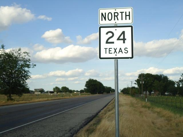 The Sulphur River Regional Mobility Authority has overseen major work on State Hwy. 24.