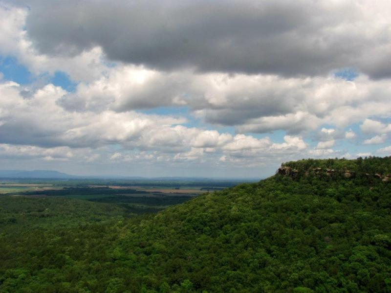 Overlook at Petit Jean State Park