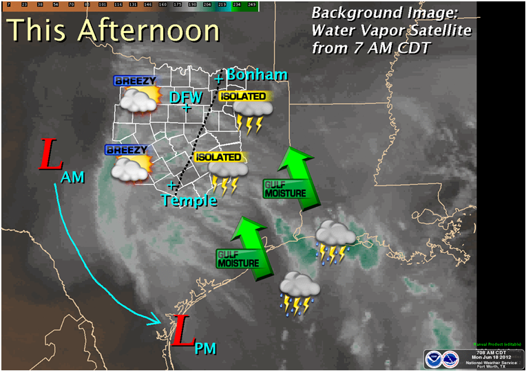Graphicast for Monday afternoon