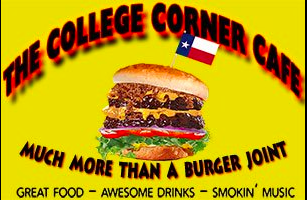 The College Corner Cafe opened in Commerce on the evening of December 31st, 2011.