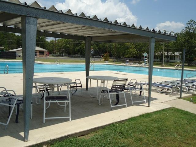 The Commerce Swimming Pool, as seen Tuesday. The pool is open from Thursday to Sunday.