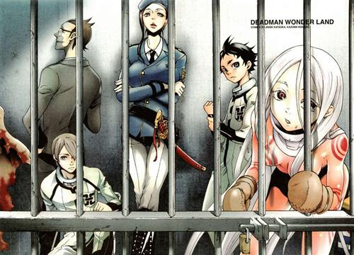 Main characters in the Deadman Wonderland series