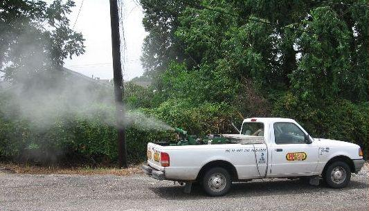 Commercial trucks to begin spraying for mosquitoes