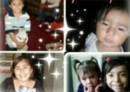Those killed were 13-year-old Rosbelia Jaimes, 7-year-old Omar Jaimes, 6-year-old Saideth Acuna, 3-year-old Yuliza Acuna, and 2-year-old Judith Jaimes.