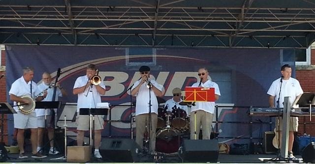 The Dixieland Jazz Band kicks off Saturday's musical lineup on the main stage