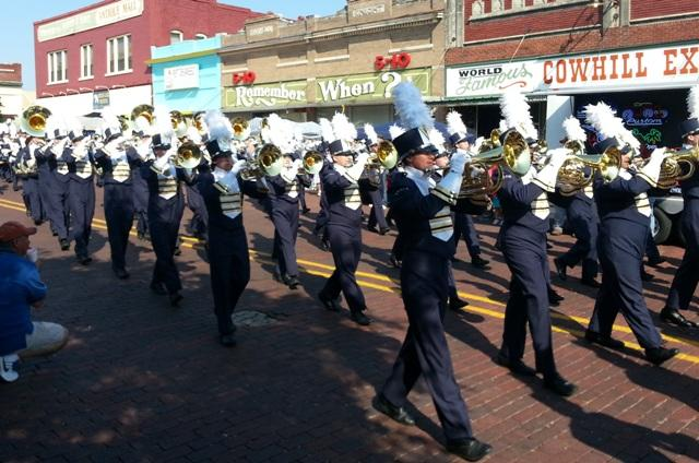The A&M-Commerce Pride Marching Band